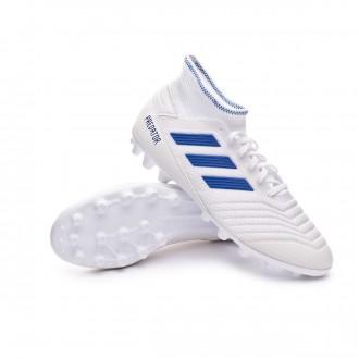 Football Boots  adidas Predator 19.3 AG White-Bold blue