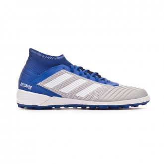 Zapatilla  adidas Predator Tango 19.3 Turf Grey two-White-Bold blue