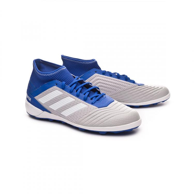 e560d25df Zapatilla adidas Predator Tango 19.3 Turf Grey two-White-Bold blue ...