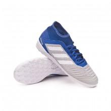 Zapatilla Predator Tango 19.3 IN Grey two-White-Bold blue