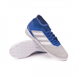 Futsal Boot  adidas Predator Tango 19.3 IN Grey two-White-Bold blue