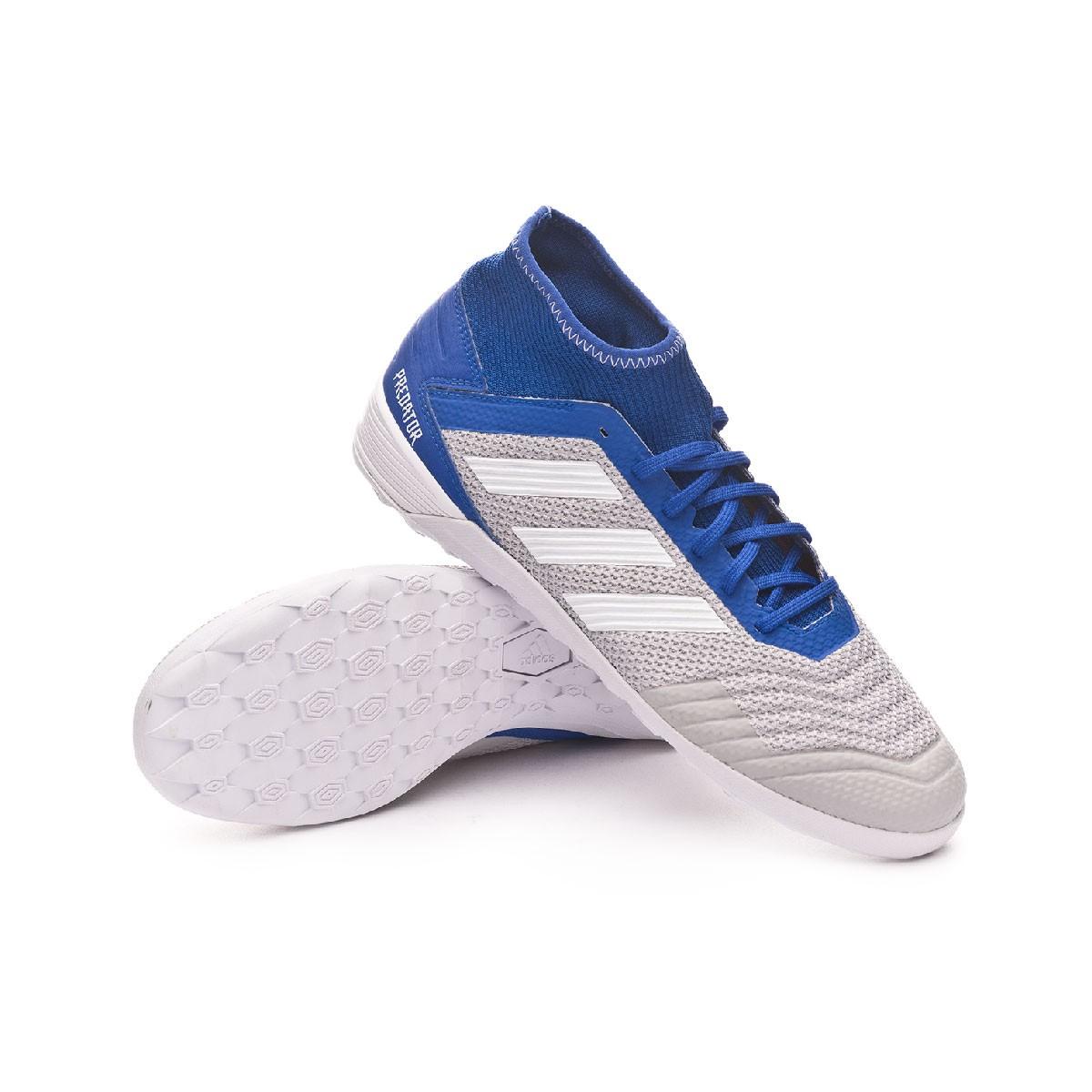 97df4904b550 Futsal Boot adidas Predator Tango 19.3 IN Grey two-White-Bold blue ...