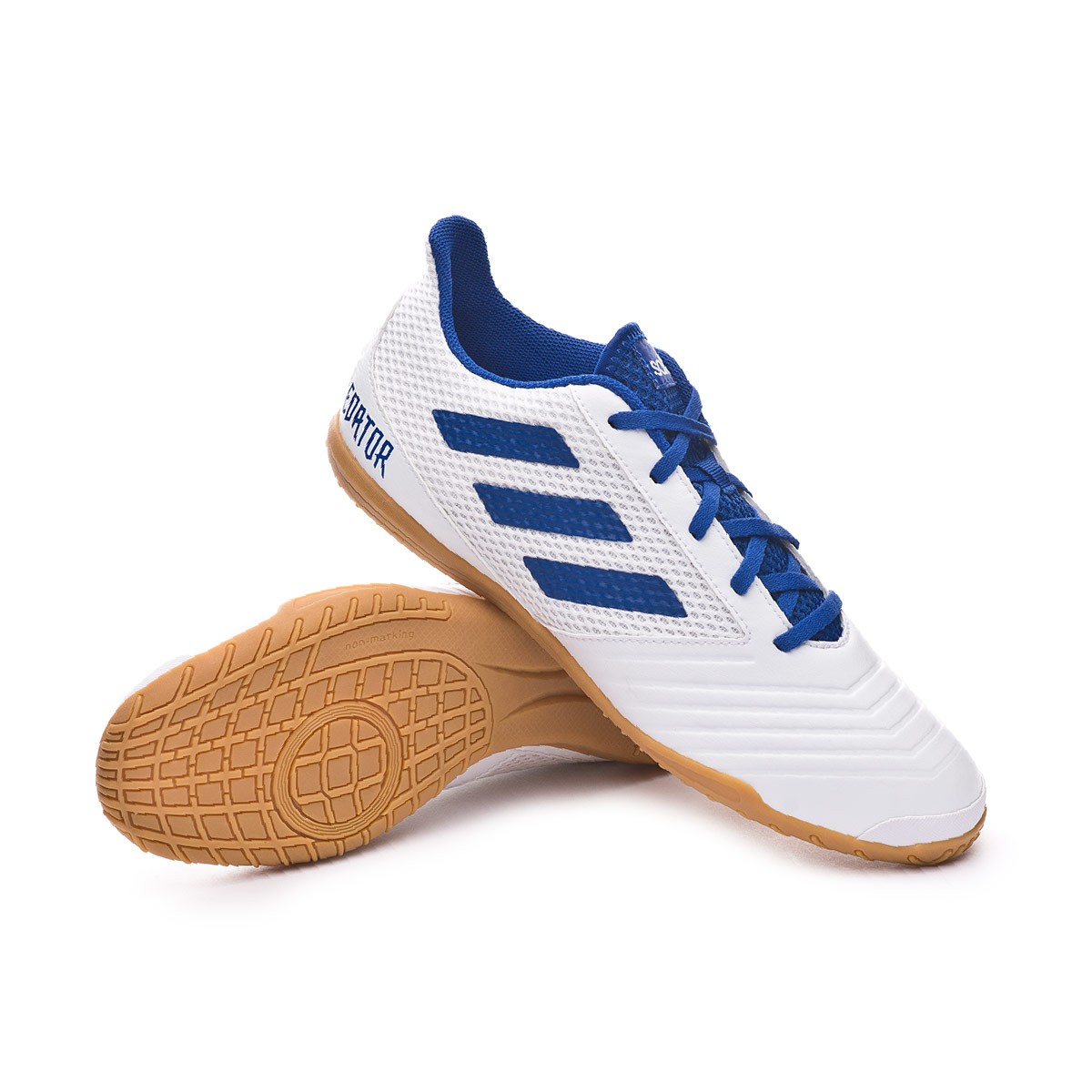 31966db36 Futsal Boot adidas Predator Tango 19.4 IN Sala White-Bold blue - Football  store Fútbol Emotion
