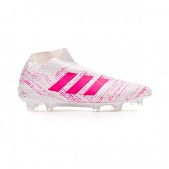 Bota  adidas Nemeziz 18+ FG White-Shock pink