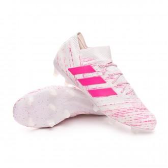 Nemeziz 18.1 FG White-Shock pink