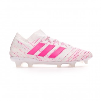 Bota  adidas Nemeziz 18.1 FG White-Shock pink