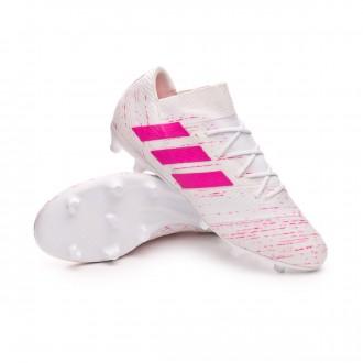 Football Boots  adidas Nemeziz 18.2 FG White-Shock pink