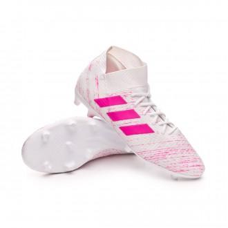 Football Boots  adidas Nemeziz 18.3 FG White-Shock pink
