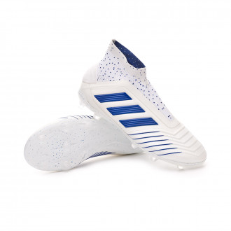 Football Boots  adidas Kids Predator 19+ FG  White-Bold blue