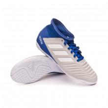 Zapatilla Predator Tango 19.3 IN Niño Grey two-White-Bold blue