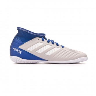Zapatilla  adidas Predator Tango 19.3 IN Niño Grey two-White-Bold blue