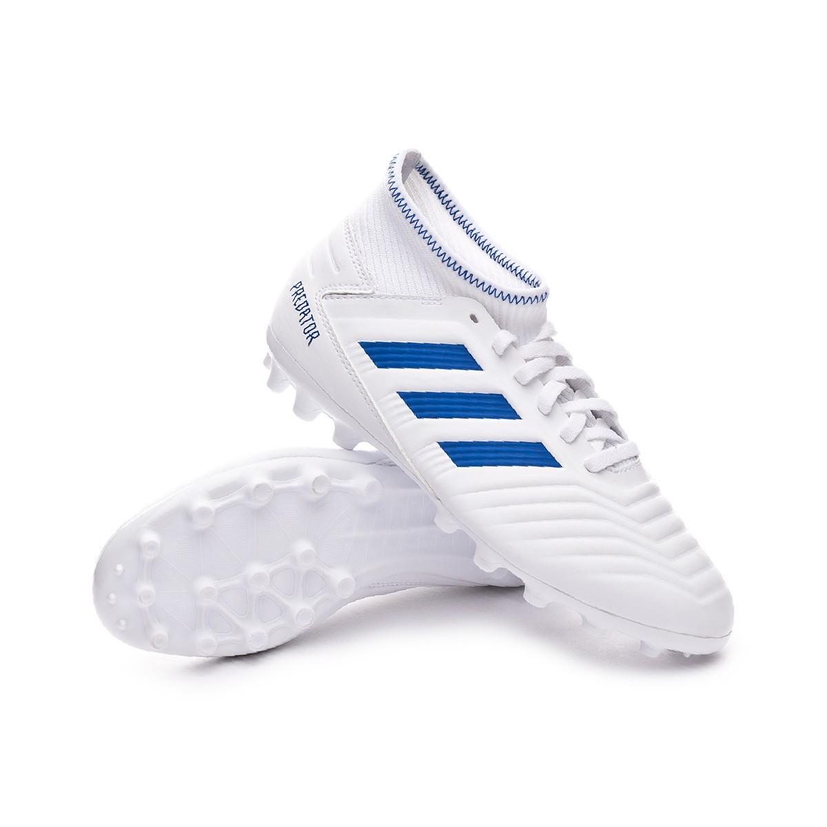 adidas Predator 19.3 AG Blau Schwarz