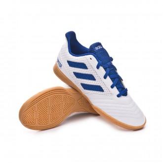 Futsal Boot  adidas Predator Tango 19.4 IN Sala Niño White-Bold blue
