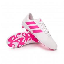 Football Boots Kids Nemeziz 18.4 FxG White-Shock pink