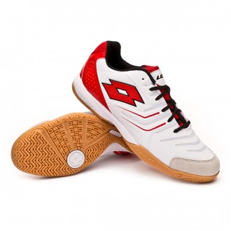 Futsal Boot  Lotto Tacto 300 IV ID White-Lobster