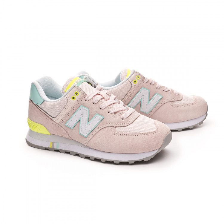 disparar Queja precisamente  Trainers New Balance 574 Mujer Oyster pink - Football store Fútbol Emotion