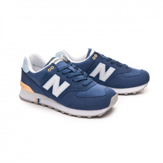 Trainers  New Balance 574 Mujer Blue