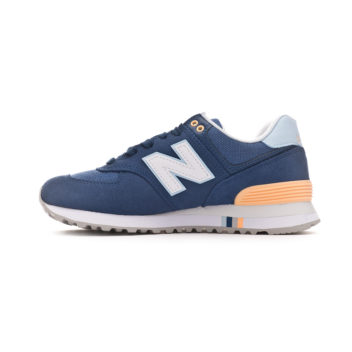 official photos 24b00 6ec84 Trainers New Balance 574 Mujer Blue - Football store Fútbol Emotion