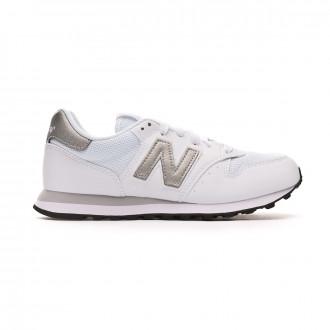 Trainers New Balance 500 Mujer White