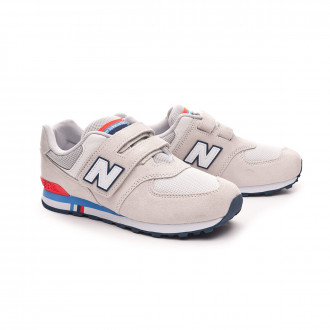 Sapatilha  New Balance 574 Velcro Niño Nimbus cloud