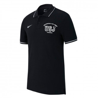 Polo shirt  Nike Club 19 USJ Black-White