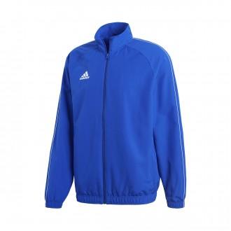 Jacket  adidas Core 18 Presentation Bold blue-White