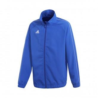 Jacket  adidas Kids Core 18 Presentation  Bold blue-White