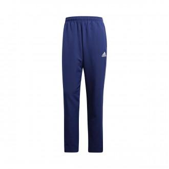 Pantaloni lunghi  adidas Core 18 Presentation Dark blue-White