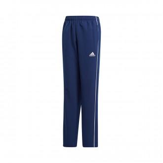 Pantaloni lunghi  adidas Core 18 Presentation Junior Dark blue-White