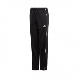 Pantaloni lunghi  adidas Core 18 Polyester Junior Black-White