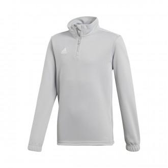 Sweatshirt  adidas Core 18 Training Crianças Stone-White