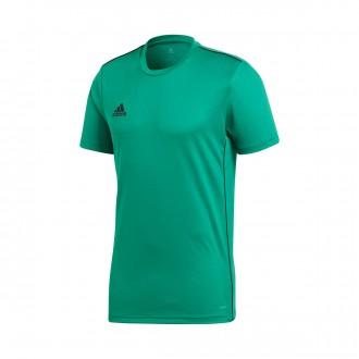 Camiseta  adidas Core 18 Training m/c Niño Bold green-White
