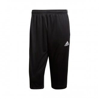 Capri pants  adidas Core 18 Black-White