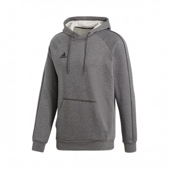 Sweatshirt  adidas Core 18 Hoody Dark grey-Black