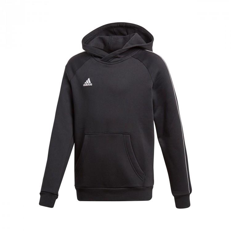 Es Adidas Niño Sudadera White Black Hoody Core Soloporteros 18 n4xwqw68