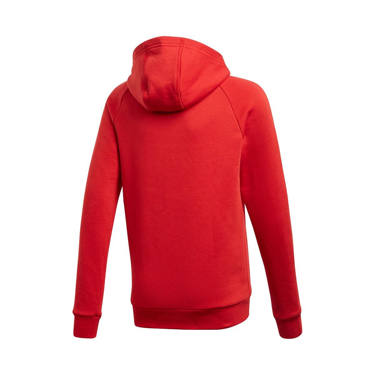 6bebe6fee Sudadera adidas Core 18 Hoody Niño Power red-White - Tienda de fútbol  Fútbol Emotion
