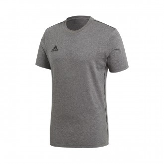 Camiseta  adidas Core 18 Tee m/c Daark grey-Black