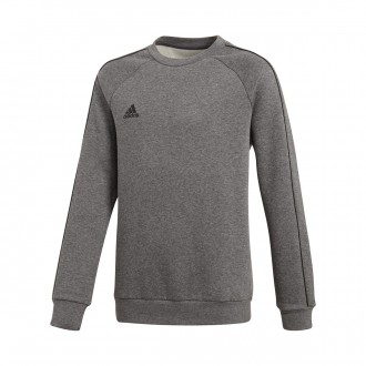 Sweatshirt  adidas Core 18 Sweat Niño Dark grey-Black