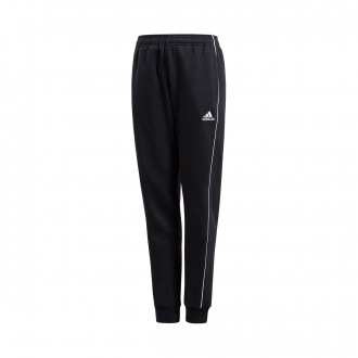 Tracksuit bottoms  adidas Kids Core 18 Sweat  Black-White