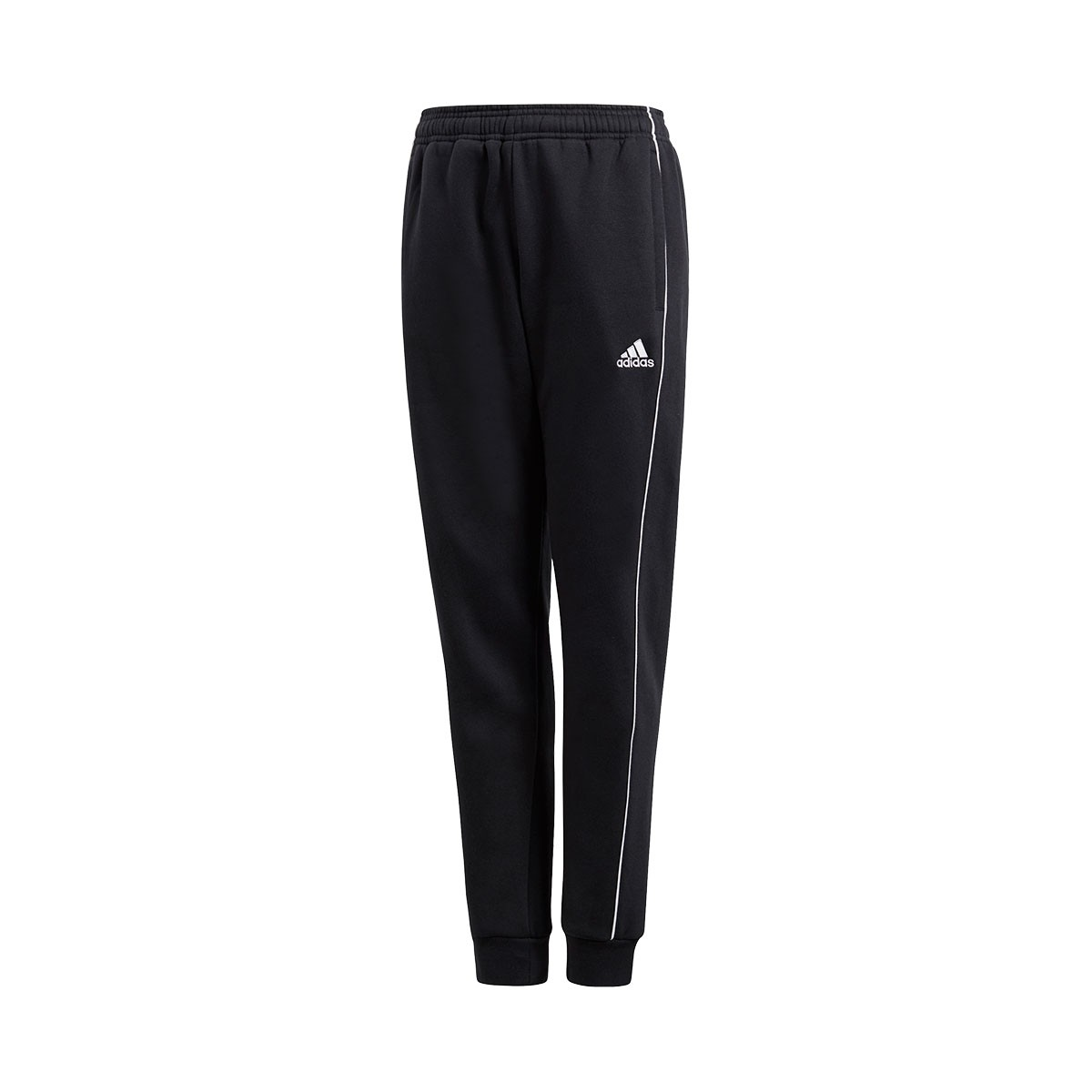 652f0ebaf Long pants adidas Kids Core 18 Black-White - Tienda de fútbol Fútbol ...