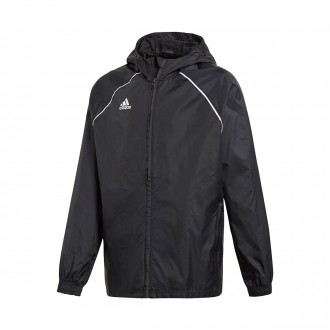 Raincoat  adidas Kids Core 18  Black-White