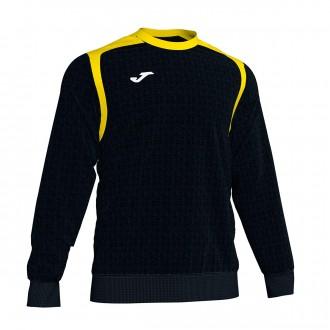 Sweatshirt Joma Champion V Preto-Amarelo