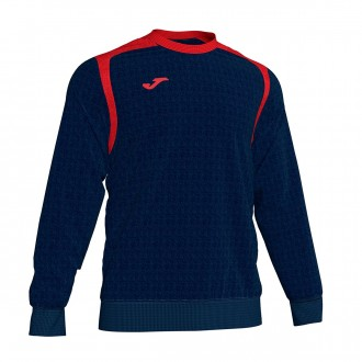 Sweatshirt Joma Champion V Azul Marinho-Vermelho