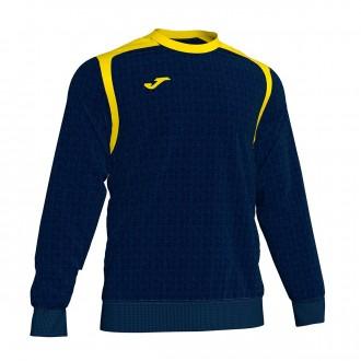 Sweatshirt Joma Champion V Azul Marinho-Amarelo