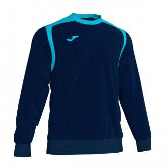 Sweatshirt Joma Champion V Azul Marinho-Turquesa flúor