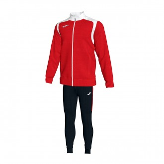 Tracksuit  Joma Champion V Red-White