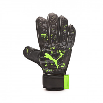 Guante  Puma Future Grip 19.4 Puma black-Charcoal gray-Green gecko