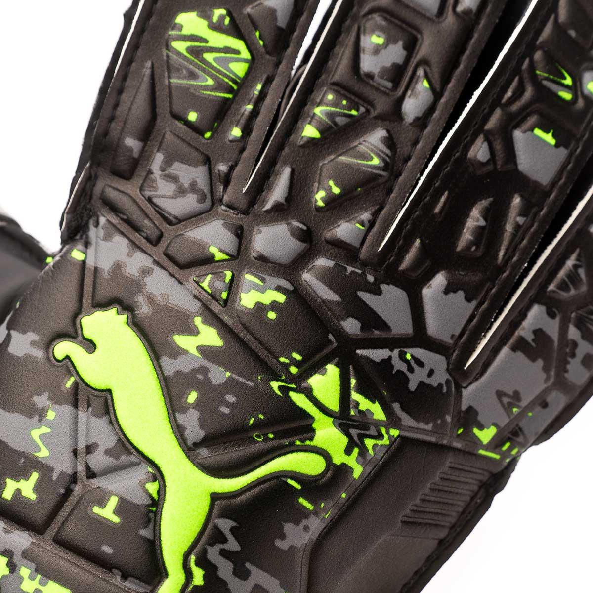 1b69c40ec Glove Puma Future Grip 19.4 Puma black-Charcoal gray-Green gecko - Football  store Fútbol Emotion