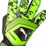 Guante One Grip 4 Puma black-Charcoal gray-Green gecko