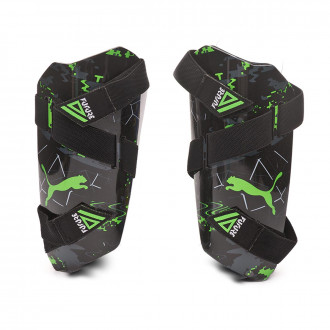 Shinpads  Puma Future 19.5 Puma black-Charcoal gray-Green gecko